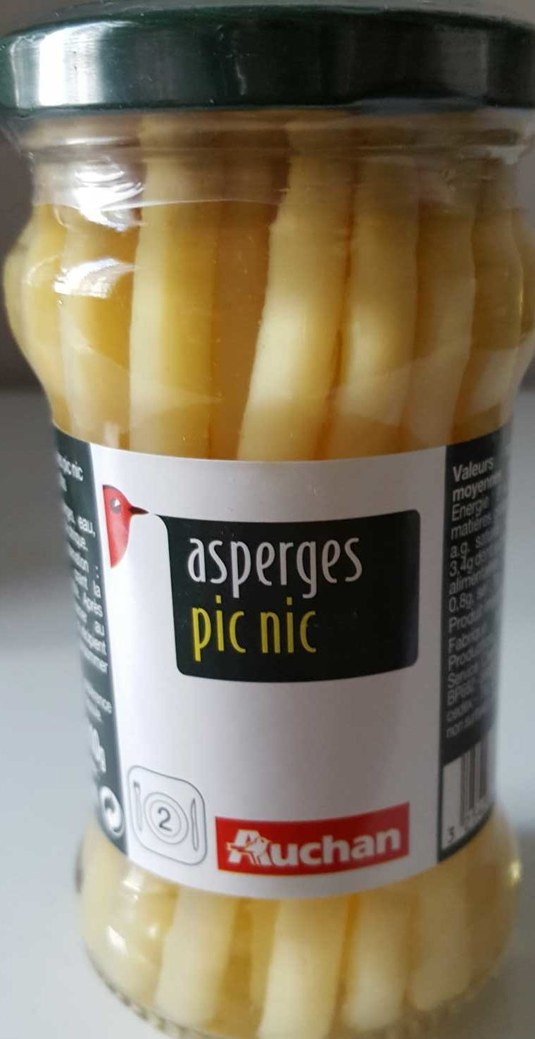 Asperges pic nic - Product