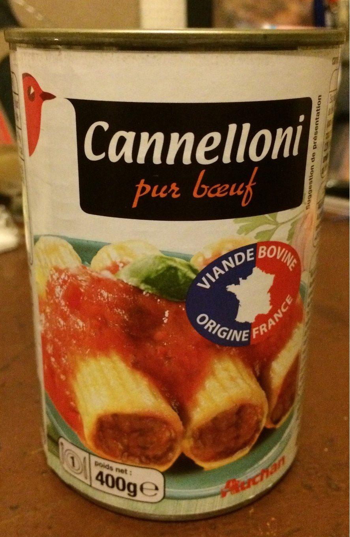 Cannelloni à la sauce italienne (pur bœuf) - Produit - fr