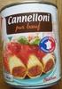 Cannelloni (pur bœuf) - Produit