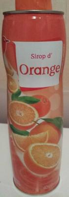 Sirop d'orange - Product - fr