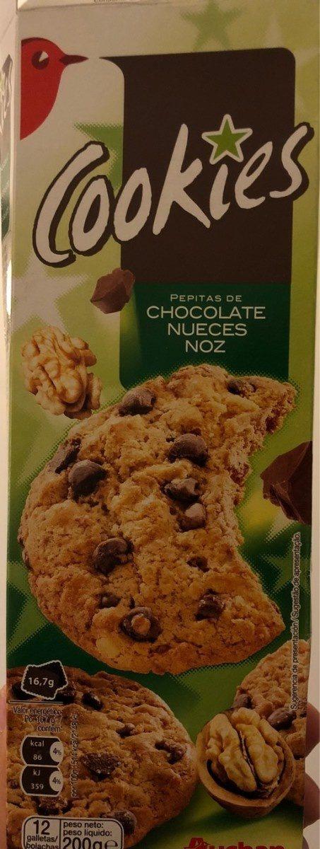 Cookies pepites de chocolat noix - Produit - fr