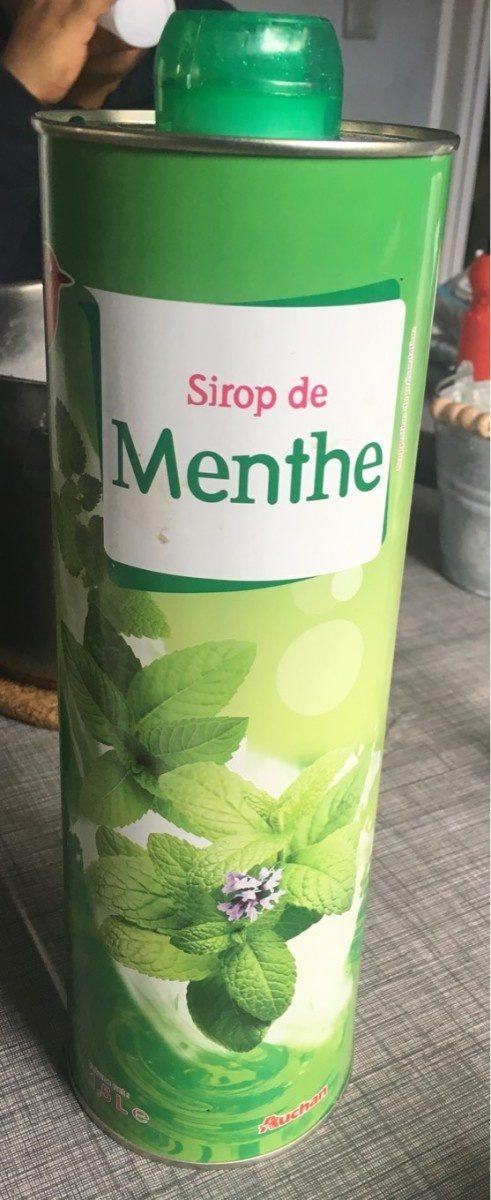 Sirop de menthe - Product