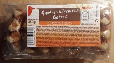 Gaufres liégeoises - Product - fr
