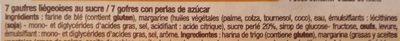 Gaufres liégeoises - Ingrediënten - fr