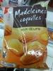 Madeleines coquilles aux oeufs - Produit