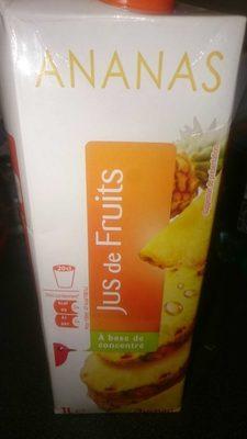 Jus d'Ananas - Produit - fr