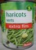 Haricots verts extra fins - Produit