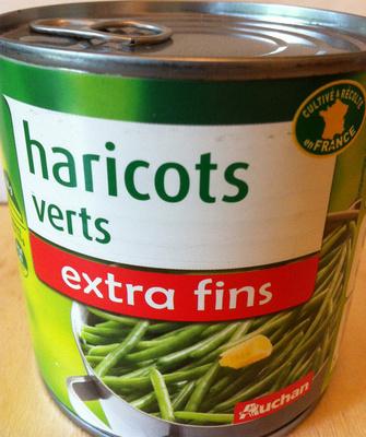 Haricots verts (extra fins) - Produit - fr
