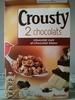 Crousty 2 chocolats - chocolat noir et chocolat blanc - Prodotto