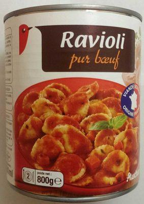 Ravioli Pur Boeuf Auchan - Produkt - fr