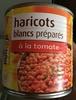 Haricots blancs préparés à la tomate - Product