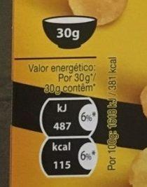 Mielnuts - Información nutricional - fr