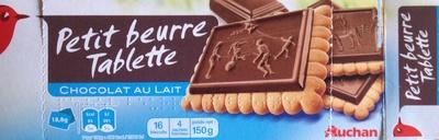Petit Beurre Tablette Chocolat au Lait - Produit - fr