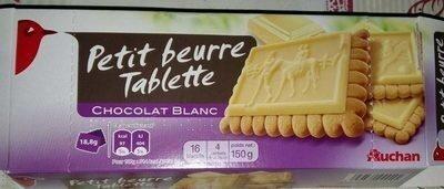 Petit beurre Tablette Chocolat Blanc - Product - fr