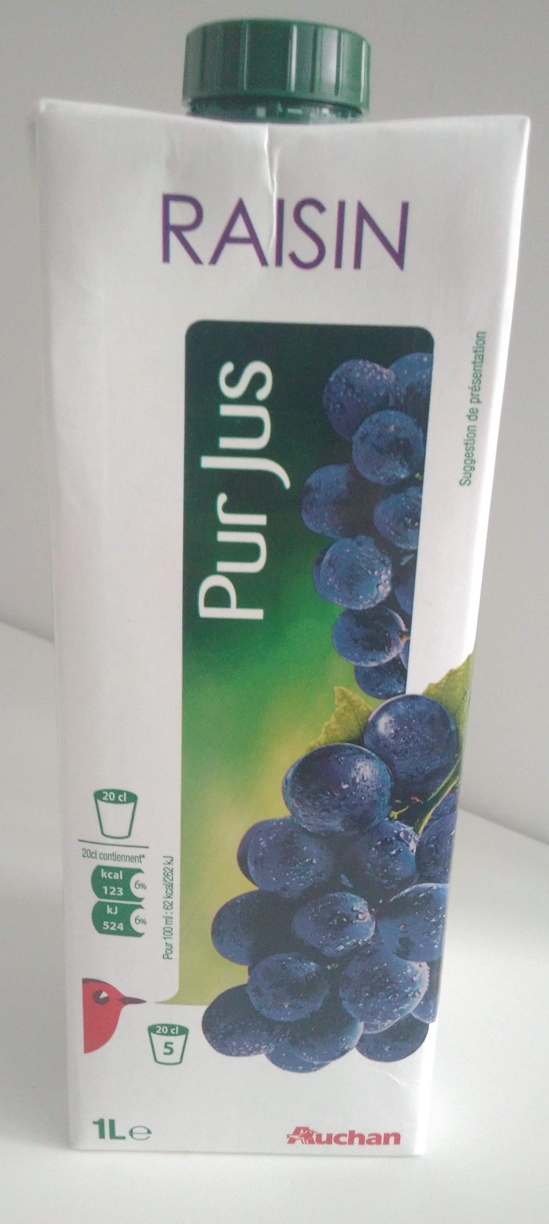 100 % pur jus, raisin - Product - fr