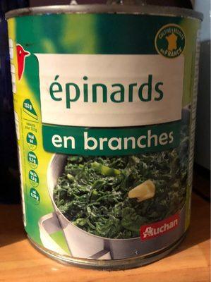 Épinards - Produit