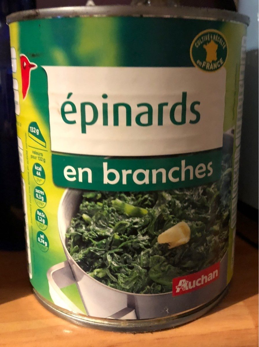 Épinards - Produit - fr