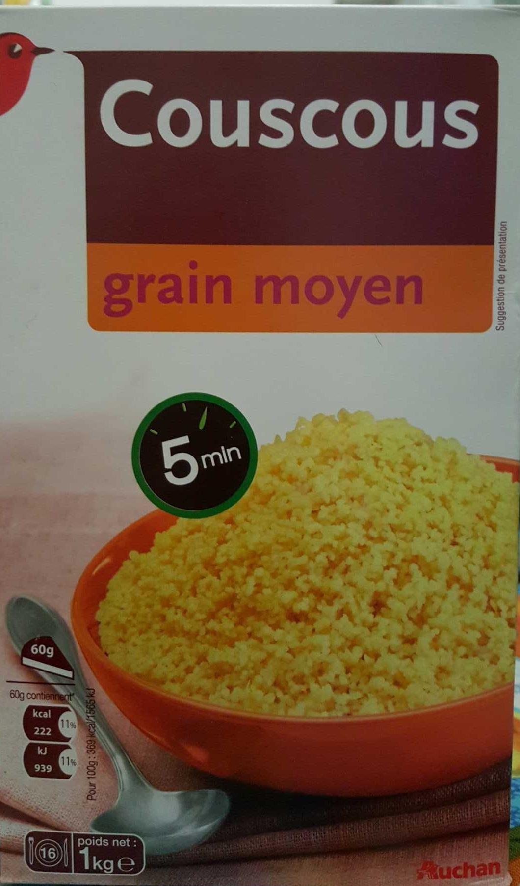 Couscous grain moyen - Producto - fr