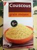 Couscous grain moyen - Produit