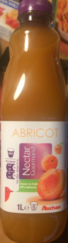 Nectar gourmand abricot - Produit