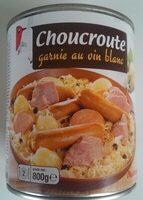 Choucroute garnie au vin blanc - Product - fr