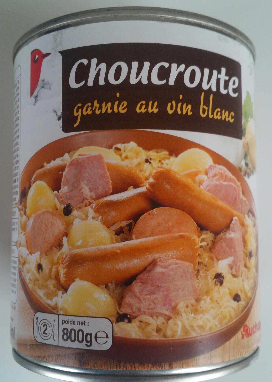 Choucroute garnie au vin blanc - Produit - fr