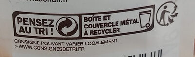 Choucroute garnie au vin blanc - Recycling instructions and/or packaging information - en