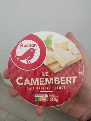 Camembert au lait pasteurisé (21 % MG) - Product - fr