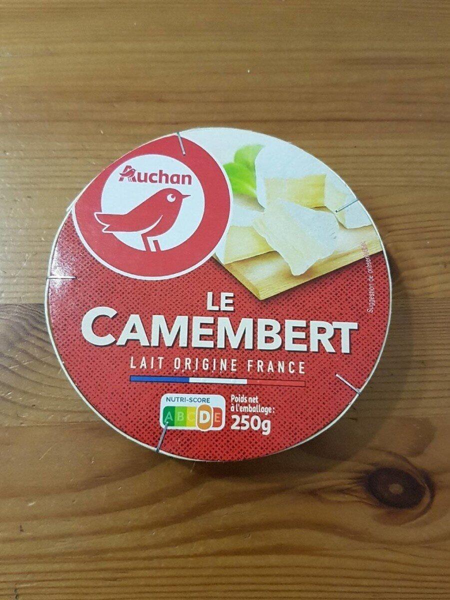 Le Camembert lait origine France - Product - fr