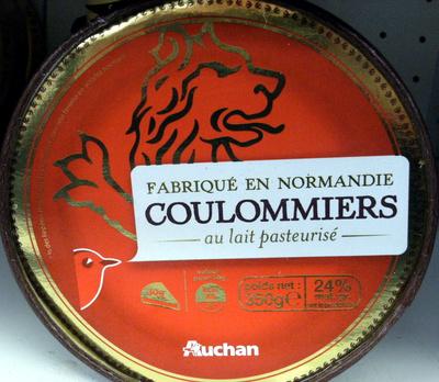 Coulommiers au lait pasteurisé (24 % MG) - Produit - fr