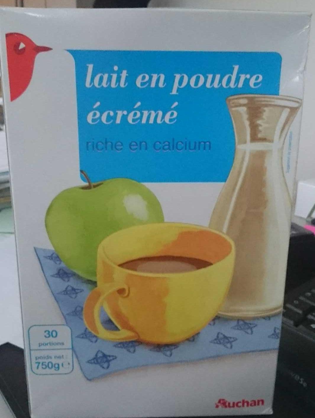 Lait en poudre écrémé - Produit - fr