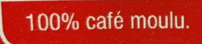 Tradition Café Moulu - Ingrédients - fr