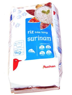 Riz très long Surinam - Produit - fr