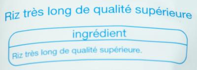 Riz très long Surinam - Ingrédients - fr