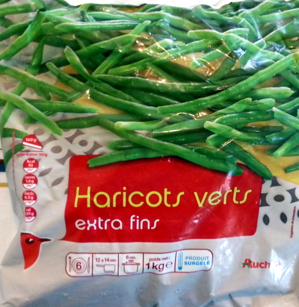 Haricots verts extra fins surgelés - Product
