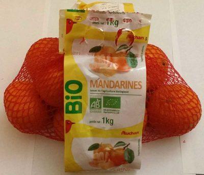 Mandarines Bio 1 kg - Product