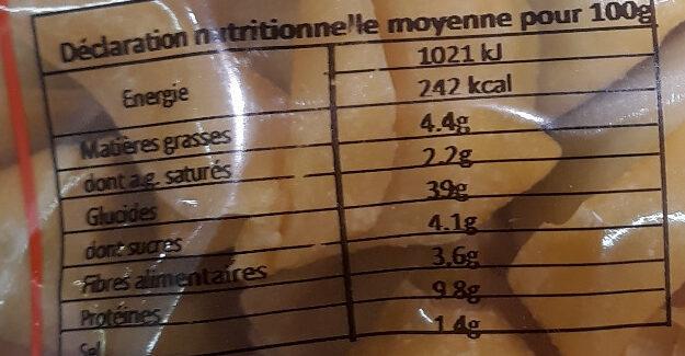 Tortelloni Ricotta Epinards - Voedingswaarden