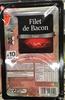 Filet de bacon fumé - Produit