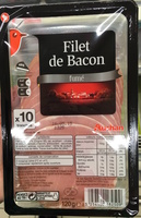 Filet de bacon fumé - Produit