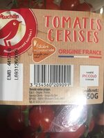Minis tomates - Nährwertangaben - fr