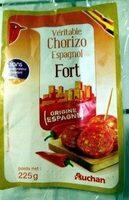 Véritable Chorizo espagnol fort - Produit - fr