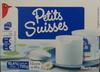 Petits Suisses (9.2 % MG) - (12 pots de 60 g) - Produit