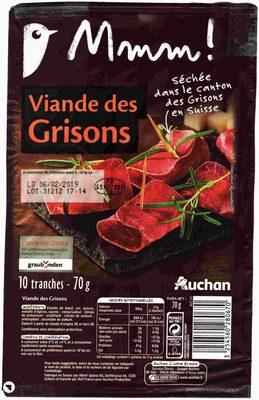 Viande des Grisons - Product