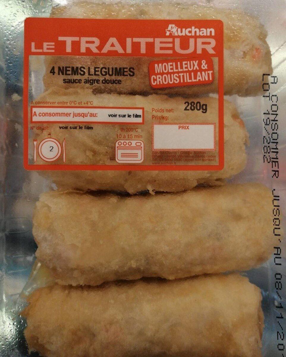4 nems légumes - Product - fr