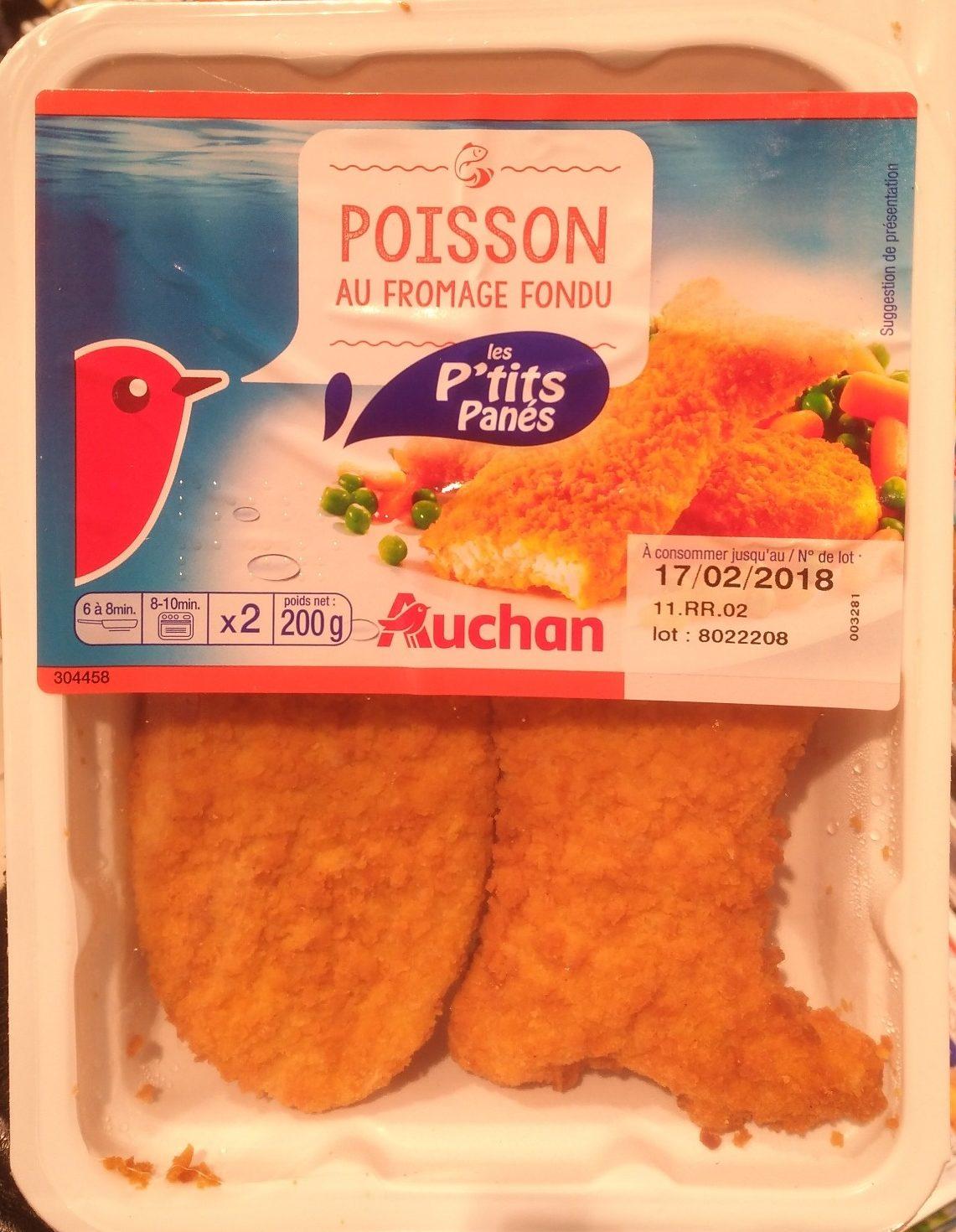Poisson au Fromage Fondu - Produit