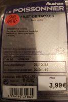 Filets de tacaud - Product - fr