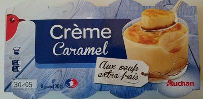 Crème caramel aux oeufs extra-frais - Product