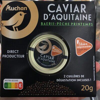 Caviar d'aquitaine - Produit - fr