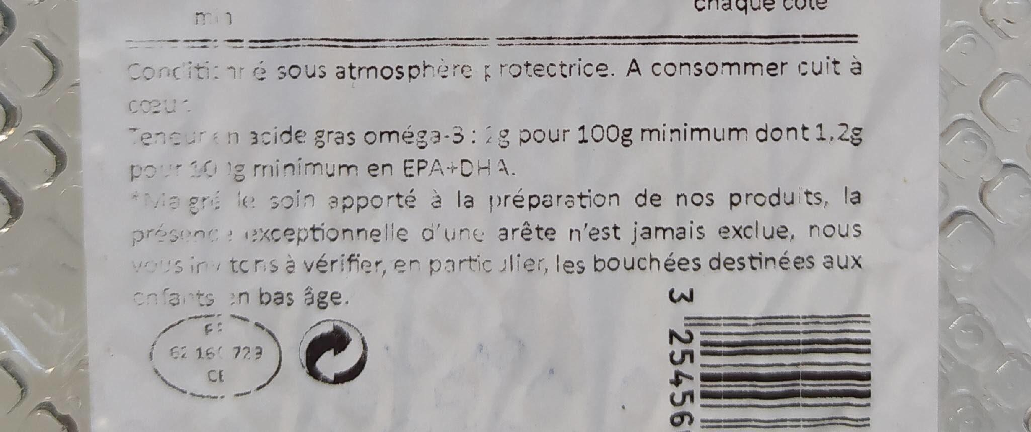 Saumon d'Écosse - Valori nutrizionali - fr