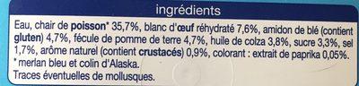 Surimi - Ingredienti - fr